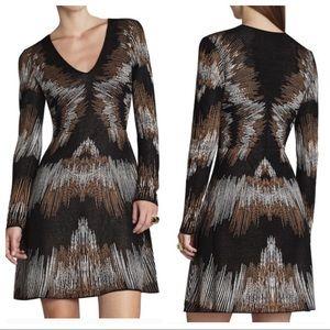 BcbgMaxAzria Katia Silk Blend Dress Sz S ::HH20